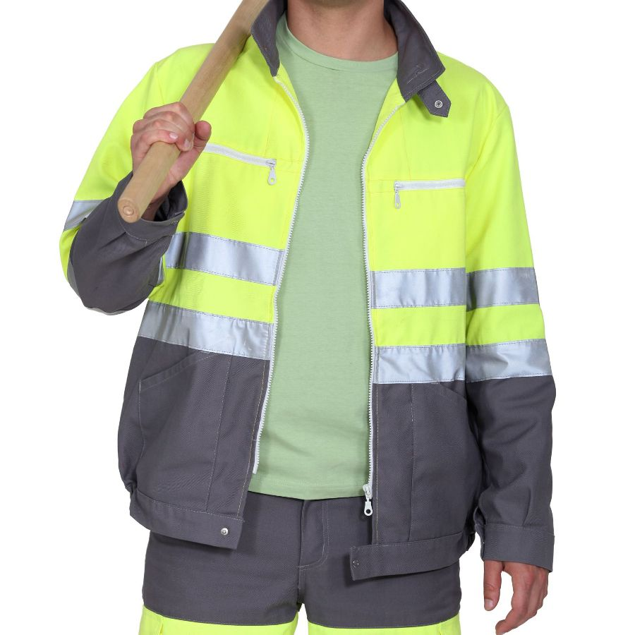 75% Polyester 25% Polyurethane, Water Resistant, Breathable, High Visible, 1/1 Plain Woven Fabric