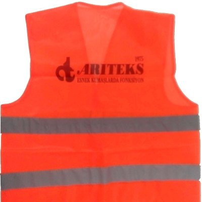 Economical High Visible Orange Safety Jacket