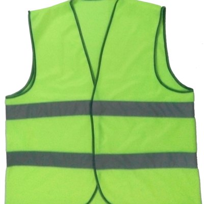 Economical High Visible Yellow Safety Jacket